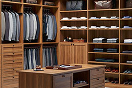 Ajax CLOSETS AND STORAGE